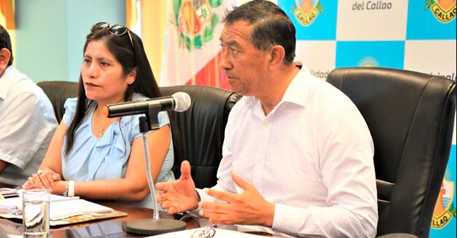 """Alcalde del Callao: """"Estamos luchando contra la corrupción"""""""