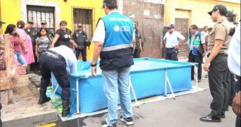 Municipalidad de Lima retiró piscinas portátiles por obstruir calles