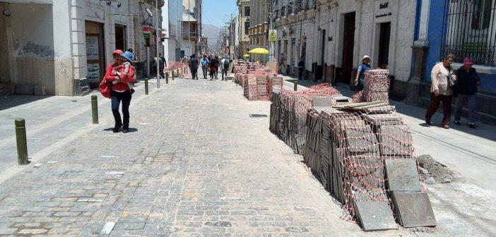 Municipalidad de Arequipa despide a 27 obreros por falta de materiales para proyecto vial