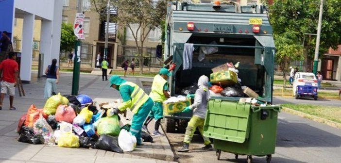 Municipalidad de Surco: Se restableció recojo de basura con empresa Petramás