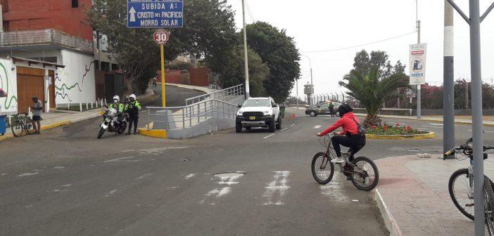 MUNICIPALIDAD DE CHORRILLOS Y LA POLICÍA NACIONAL CIERRAN ACCESOS PARA PRESERVAR EL MORRO SOLAR PATRIMONIO CULTURAL DE LA NACIÓN
